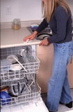 Daily chores Stock Image