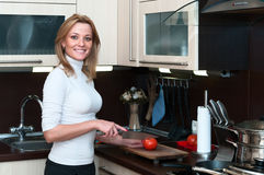 Chores in the kitchen Stock Image