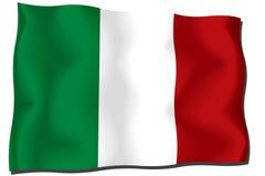 chorągwiany Italy Obrazy Stock