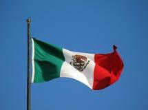 chorągwiany Mexico Obraz Royalty Free