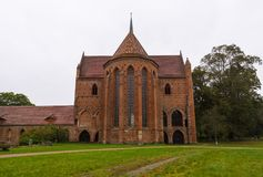 Chorin Abbey is the former Cistercian abbey near the village of Chorin in Brandenburg, Germany. Founded in 1258 Royalty Free Stock Images