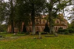 Chorin Abbey is the former Cistercian abbey near the village of Chorin in Brandenburg, Germany. Founded in 1258 Stock Images