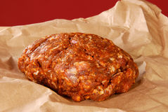 Choriso pork sausage freshly ground Stock Image