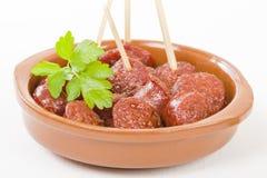 Chorizo ένα Λα Sidra Στοκ εικόνα με δικαίωμα ελεύθερης χρήσης