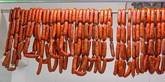 Chorizo Fotografie Stock