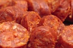Chorizo Στοκ εικόνα με δικαίωμα ελεύθερης χρήσης