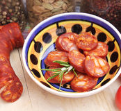 Chorizo Royalty Free Stock Photos