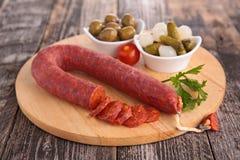 Chorizo Photographie stock libre de droits