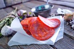 Chorizo Royalty-vrije Stock Afbeelding