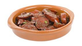 Chorizo al Vino Royalty Free Stock Image
