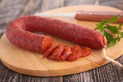Chorizo Stock Photography