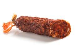 Chorizo curato Spagnolo Fotografie Stock