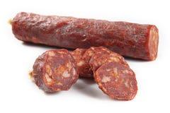 Chorizo iberico Fotografie Stock