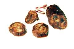 Chorizo iberico Immagini Stock Libere da Diritti