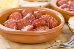 Chorizo a la Sidra Stock Images