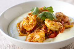 Chorizo Lime Shrimp Stock Images