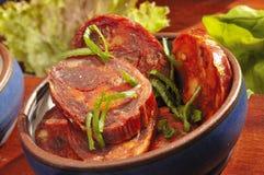 Chorizo mexicain de spécialité Images stock