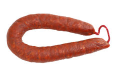 Chorizo Ring Stock Photography