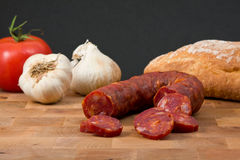 Free Chorizo Sausage Royalty Free Stock Photography - 13050647