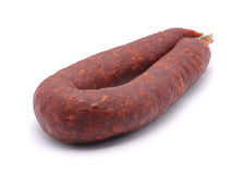 Chorizo sausage Royalty Free Stock Photos