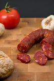 Chorizo sausage Royalty Free Stock Photos