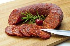 Chorizo sausage Royalty Free Stock Photo