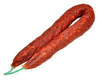 Chorizo Sausage Royalty Free Stock Images