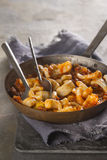 Chorizo and Squid Stew Royalty Free Stock Image
