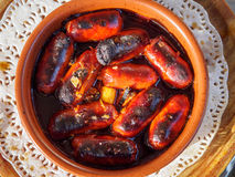 Chorizo tapas Stock Photo
