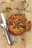 Chorizo tortilla Stock Photos