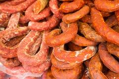 Chorizos Stock Image