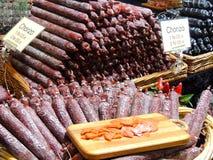 Chorizostall Fotografering för Bildbyråer