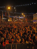 Chorley Christmas lights switch on Stock Images