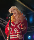 Chorley Christmas lights switch on Royalty Free Stock Image