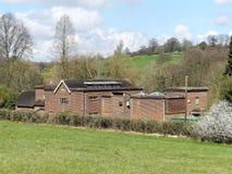 Chorleywood pumpa station, norr kulle, Chorleywood arkivfoto