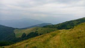 Chornohora cárpato Foto de archivo