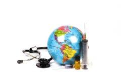 Choroba wolny świat Fotografia Stock