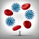 Choroby zarządzanie ilustracja wektor
