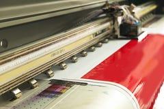Chorro de tinta al aire libre del formato grande Fotos de archivo libres de regalías