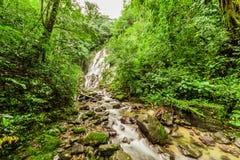 Chorro el Macho, a waterfall in El Valle de Anton Royalty Free Stock Images