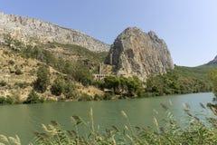 chorro el Prowincja Malaga Hiszpania obrazy royalty free