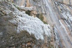 Chorron de Viguera waterfall, La Rioja, Spain Stock Photos