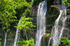 Chorros del varal waterfalls Royalty Free Stock Photos