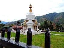 Chorten commémoratif, Thimphou, Bhutan photo stock