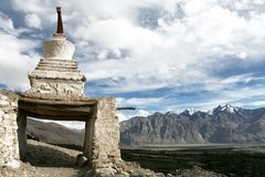 Chorten, Himalayas, Ladakh, India Stock Photos