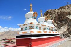 Chorten In Ladakh Royalty Free Stock Photos