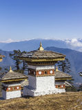 Chorten at the pass Royalty Free Stock Image