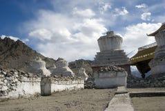 Chortens in the city, Leh, Ladakh, India Royalty Free Stock Photography