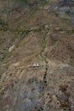 Chortens på den Himalayan Trekrutten Royaltyfria Foton