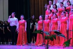 Singing contest royalty free stock photo